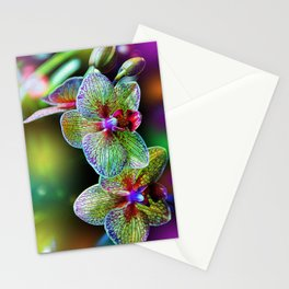 Alien Orchids Stationery Cards