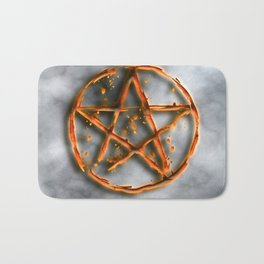 Supernatural devil's trap Bath Mat