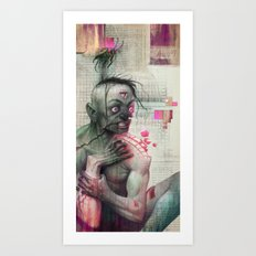 Self Analysis Defrag Art Print