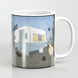 Travel Trailer Sandhill Crane Coffee Mug