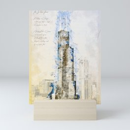 SearsTower, Chicago USA Mini Art Print