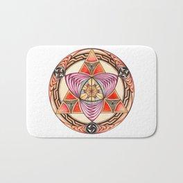 Pyramid Mandala Bath Mat