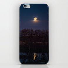 Supermoon Reflected iPhone & iPod Skin
