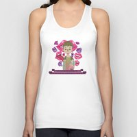 pixies Tank Tops featuring Illustrated Songs - Hey by Cristian Barbeito