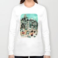 canada Long Sleeve T-shirts featuring Wild Canada by Mathilde George