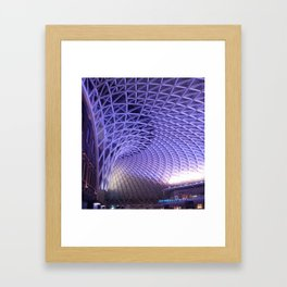 King's Cross Station Framed Art Print