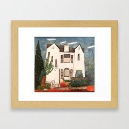 920 Hoover House Framed Art Print