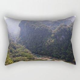 Semuc Chapei, Guatemala.  Rectangular Pillow
