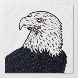 Free (Bald Eagle) Canvas Print