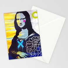 Mona Lisa Stationery Cards