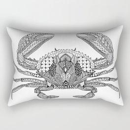 Tangled Crab Rectangular Pillow