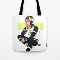 dmmd Tote Bags featuring DMMD: Noiz by Yuki119