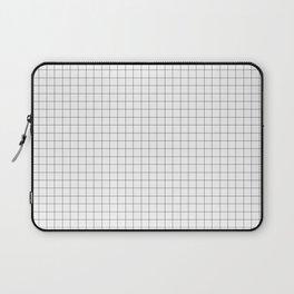 Grid lines pattern Laptop Sleeve