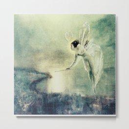 Spirit of the Night by john Atkinson Grimshaw Metal Print