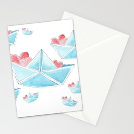 love boat Stationery Cards