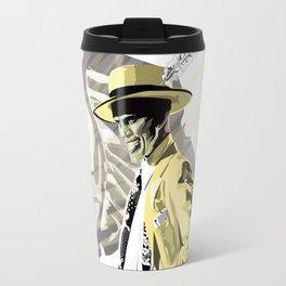 The Mask of Loki Travel Mug