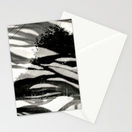 Abstract Trees Stationery Cards