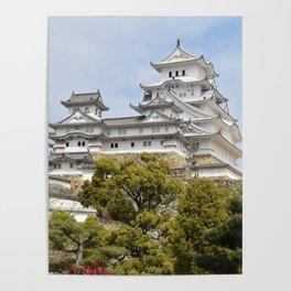 Himeji Castle in Japan Poster