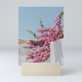 santorini vi / greece Mini Art Print