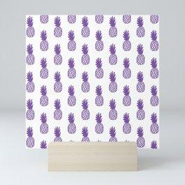 Purple Pineapple Mini Art Print