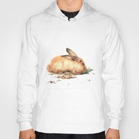bunny Hoodies featuring Bunny by Ivanushka Tzepesh