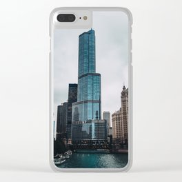 Trump Tower Clear iPhone Case