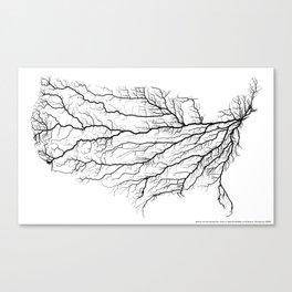 Highways of America Canvas Print