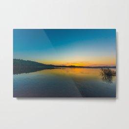 Sunrise at Lake of Two Rivers Metal Print