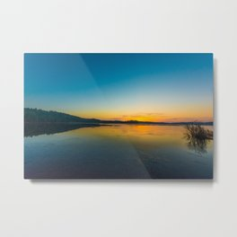 Sunrise at Lake of Two Rivers Metal Print