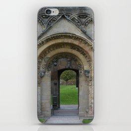 Glastonbury Abbey 1 iPhone Skin