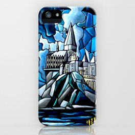 Stained Glass magic iPhone Case