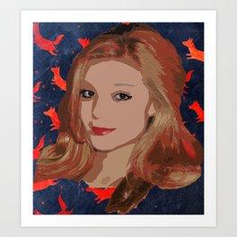 Patri K Art Print