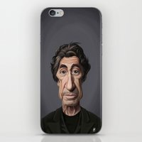scarface iPhone & iPod Skins featuring Celebrity Sunday ~ Al Pacino by rob art | illustration