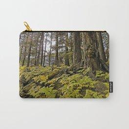 AUTUMN FOREST BRACKEN FERNS Carry-All Pouch