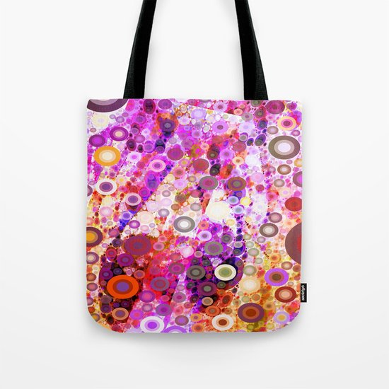 Colorful Party Kringles Tote Bag
