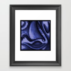 Blue Ballet Framed Art Print