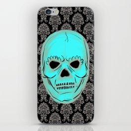 Skull mask iPhone Skin