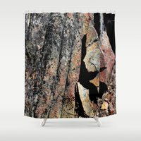 stone Shower Curtains featuring Stone by LilyMichael Photography