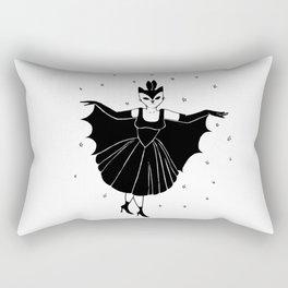 Bat girl is not bad Rectangular Pillow