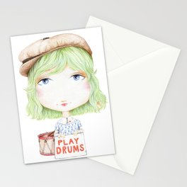 Play Drums Stationery Cards