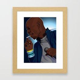 Dave Chapelle Framed Art Print