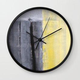 Separated Wall Clock
