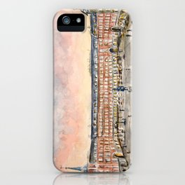 Plaza Mayor de Madrid, Spain iPhone Case