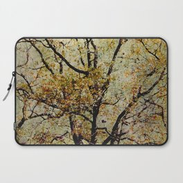 Breathe: Asian Look Copper Branches Laptop Sleeve