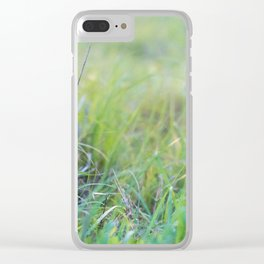 Dewey Pastures Clear iPhone Case