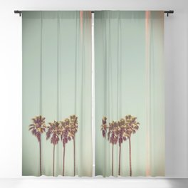 Pack of Palms Los Angeles Blackout Curtain