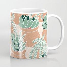 Succulent's Tiny Pots Coffee Mug