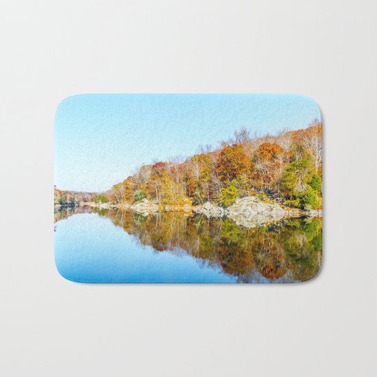 Fall Reflections Bath Mat