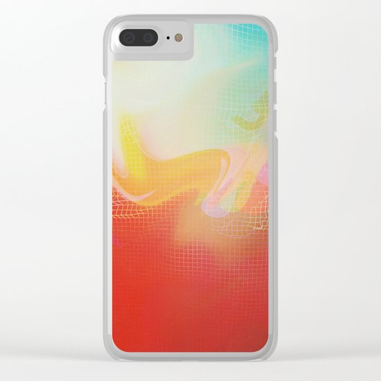 Glitch 30 Clear iPhone Case