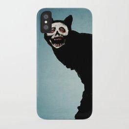 Skullcat iPhone Case